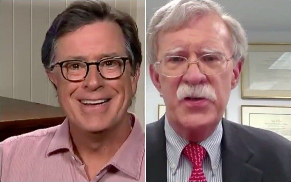 Exasperated Colbert Hits 'Naive' Bolton In Blunt Interview: 'How Did You Not Know?'