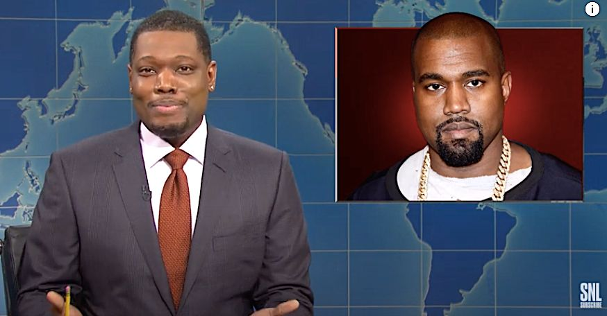 Candidate Kanye West Gets Not-So-Stellar Mentions On 'Saturday Night Live'
