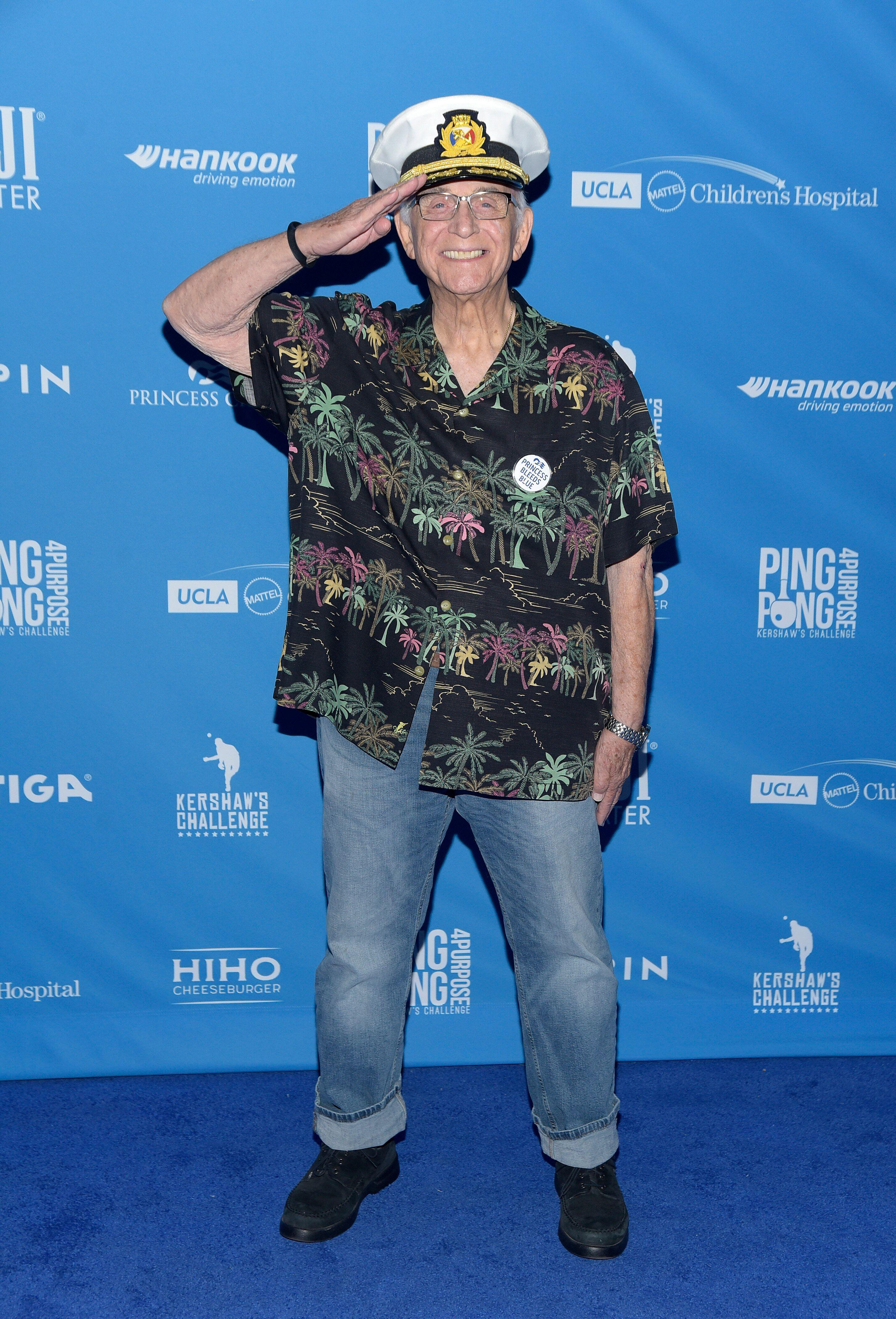 Actor Gavin MacLeod, 'Love Boat' Captain, Dies At 90
