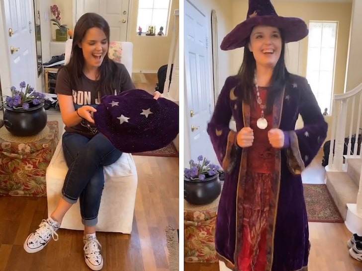 'Halloweentown' Star Kimberly J. Brown Recreates Witch Outfit on TikTok