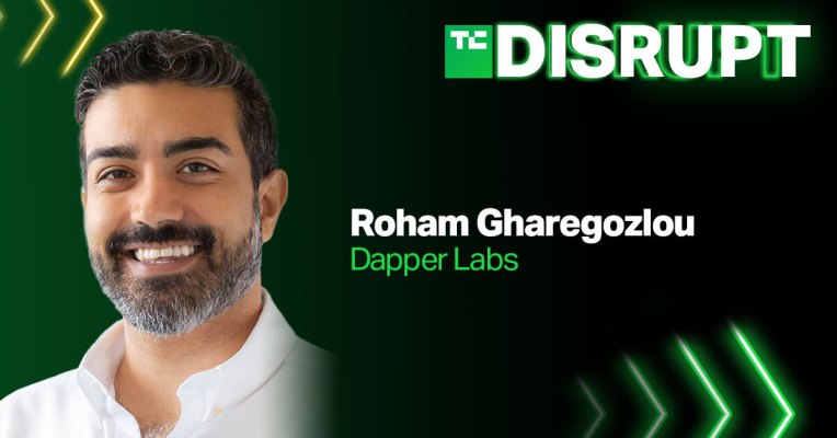 Dapper Labs CEO Roham Gharegozlou is coming to Disrupt